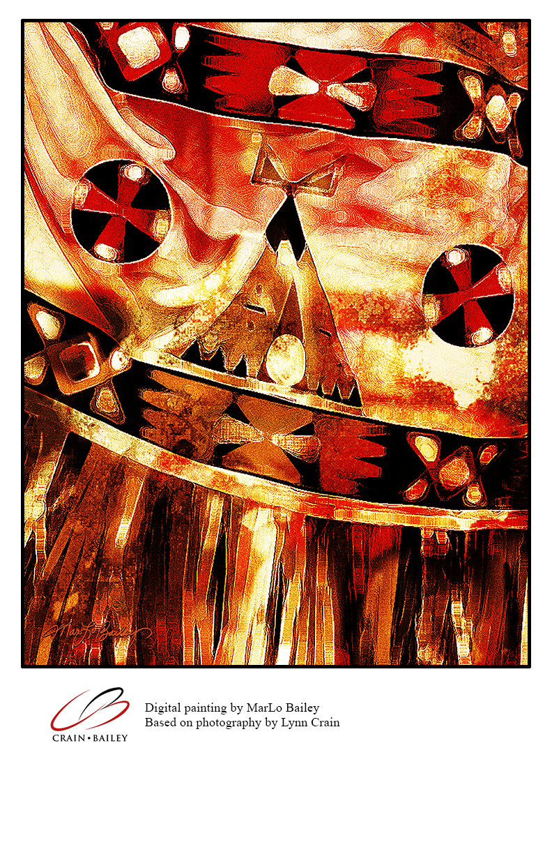 Digital Painting - teepee